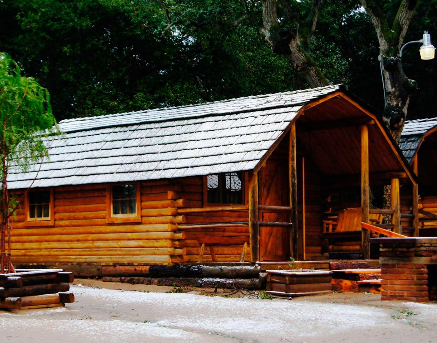 accommodations small camping cabin rancho ojai